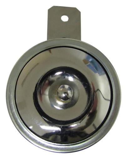Picture of Horn 12 Volt Chrome O.D.85mm