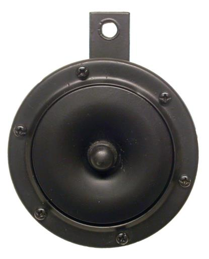 Picture of Horn 12 Volt Black O.D.100mm
