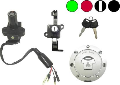 Picture of Ignition Switch & Tank Cap Honda NSR125 94 Onwards 4 Wires (Pair)
