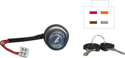 Picture of Ignition Switch for 1972 Suzuki T 350 J 'Rebel' (2T)