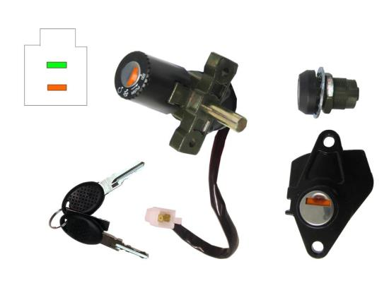 Picture of Ignition Switch & Seat Lock Aprilia SR50 2005-on Injection