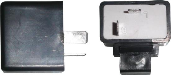 Picture of Flasher Can 12v Rectangle 2 Pin bulbs up to 23 watt & LED's
