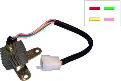 Picture of Rectifier for 1971 Honda CD 175 (Twin)