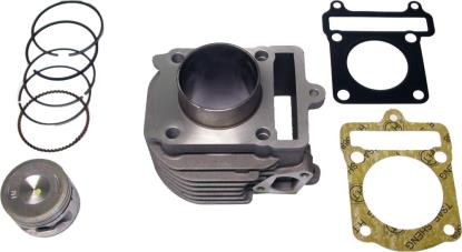 Picture of Barrel 4 Stroke 125cc Scooter 51.50mm Piston Kit & Gaskets