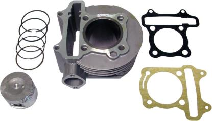 Picture of Barrel 4 Stroke 125cc Scooter 52.40mm Piston Kit & Gaskets