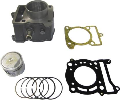 Picture of Barrel 4 Stroke 125cc Scooter 53.70mm Piston Kit & Gaskets