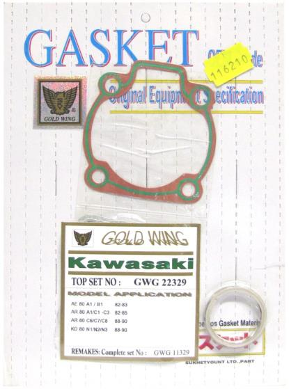 Picture of Gasket Set Top End (Big Bore) for 1982 Kawasaki AE 50 A2