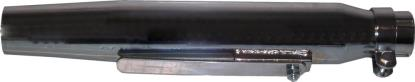 Picture of Exhaust Silencer 35mm-45mm Taper 15'' Long Universal