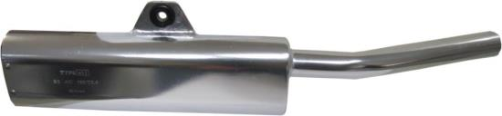 Picture of Exhaust Tailpipe Trail Silver Universal with back mounting
