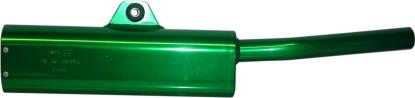 Picture of Exhaust Tailpipe Trail Green Universal with back mounting