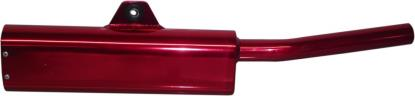 Picture of Exhaust Tailpipe Trail Red Universal with back mounting