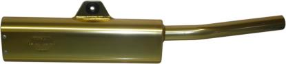 Picture of Exhaust Tailpipe Trail Gold Universal with back mounting