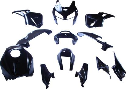 Picture of Fairing Complete Honda CBR600RR 2005-2006 (Black-14)