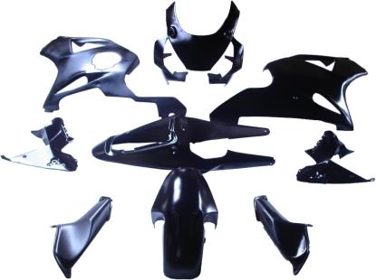 Picture of Fairing Complete Honda CBR900RR 2002-2003 (Black-9)