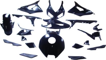 Picture of Fairing Complete Honda CBR1000RR 2006-2007 (Black-19)