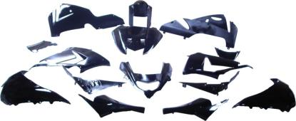 Picture of Fairing Complete Kawasaki ZX10R 2004-2005 (Black-15)