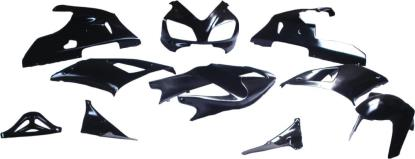 Picture of Fairing Complete Yamaha YZF R1 1998-1999 (Black-10)