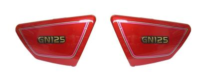 Picture of Side Panels Suzuki GN125 Red (Pair)