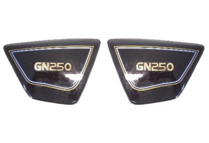 Picture of Side Panels Suzuki GN250 Black (Pair)