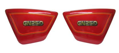 Picture of Side Panels Suzuki GN250 Red (Pair)
