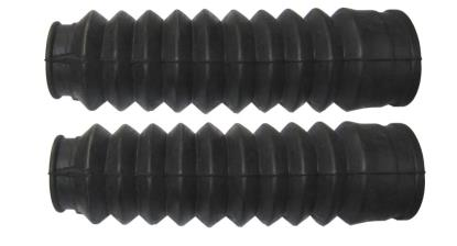 Picture of Fork Gaitors Small Black 190mm Long Top 32mm Bottom 48mm (Pair)
