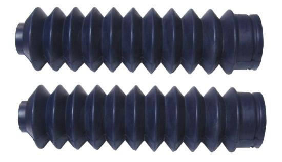 Picture of Fork Gaitors Small Blue 225mm Long Top 26mm Bottom 45mm (Pair)
