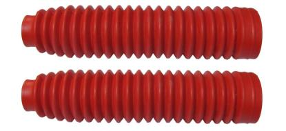 Picture of Fork Gaitors Medium Red 245mm Long Top 30mm Bottom 60mm (Pair)