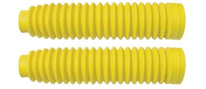 Picture of Fork Gaitors Medium Yellow 245mm Long Top 30mm Bottom 60mm (Pair)