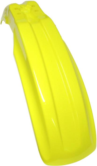 Picture of *Front Mudguard Yellow KX85 98-11, KX100 04-09, RM100 00-08