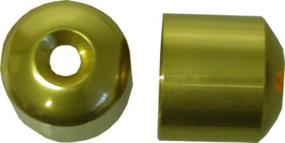 Picture of Bar End Cover Gold CBR400RR (Pair)