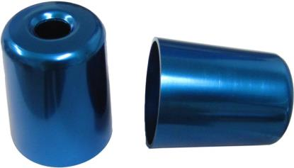 Picture of Bar End Cover Blue ZX7R (Pair)