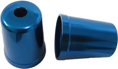 Picture of Bar End Cover Blue FZR600, FZR1000R, YZF600, 750R, FZ750, FJ1200 (Pair)