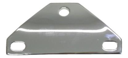 Picture of Headlight Brackets Chrome to fit Harley Davidson FX, FXR, XL