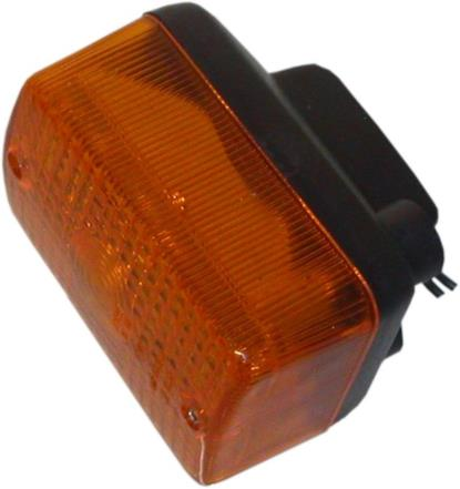 Picture of Complete Indicator Honda C90 Cub Black Front, NH80 Front(Amber)