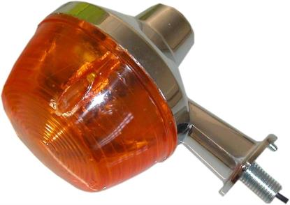 Picture of Complete Indicator Kawasaki KH100A, G2-4 Short Stem(Amber)