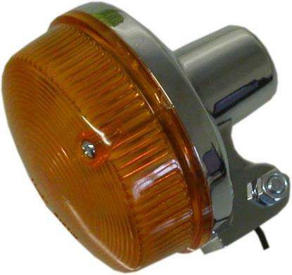 Picture of Complete Indicator Kawasaki Z400T, Z650, Z900, Z1000A1-A2 Round(Amber)