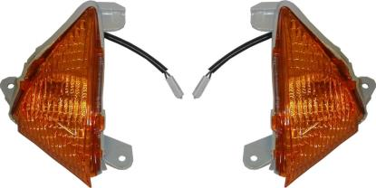 Picture of Complete Indicator Kawasaki ZX6R Front Left & Right 2004-2006(Amber) (Pair)