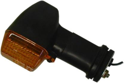 Picture of Complete Indicator Kawasaki ZX6R Rear Stem Length 70mm(Amber)