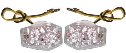 Picture of Complete Indicator LED Flush Mount Fairing Suzuki(Clear) (Pair)