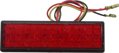 Picture of Complete Taillight LED Red Lens Adhesive 30mm x 95mm