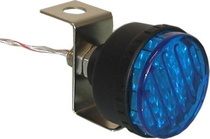 Picture of Marker Light Flashing Blue with Single Bolt Fitting OD:45mm