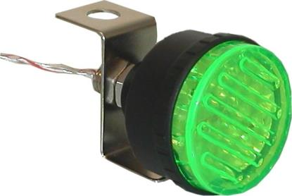 Picture of Marker Light Flashing Green with Single Bolt Fitting OD:45mm
