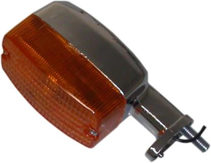 Picture of Complete Indicator Suzuki CL50 Rear Stem Length 33mm, 8mm Thread(Amber)