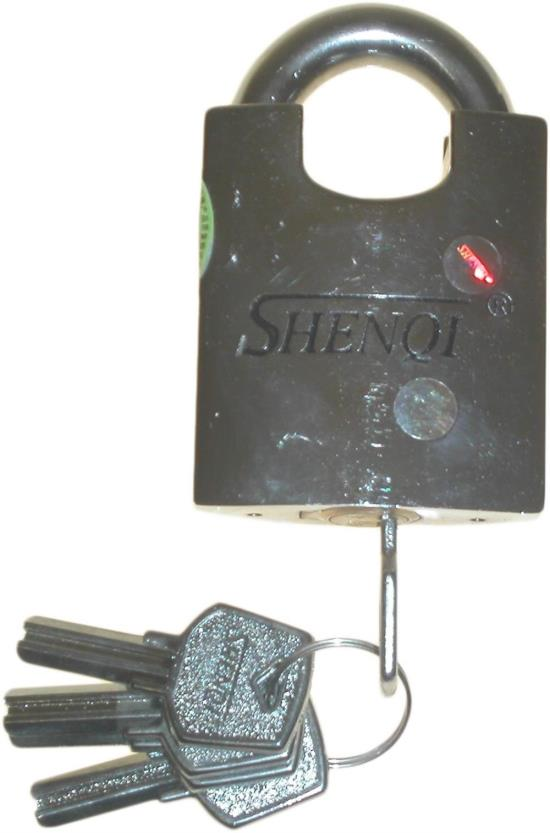 Picture of Lock Shenqi Heavy Duty Padlock with 5 Keys