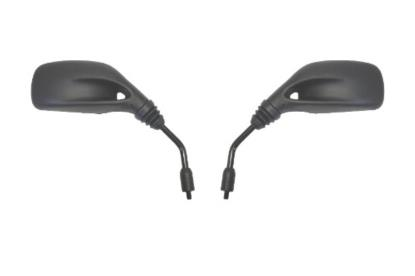 Picture of Mirrors 8mm Black Rectangle Left & Right Scooter Benelli (Pair)
