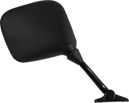 Picture of Mirror Fairing Black Square Right Hand Yamaha RD, FZ 47mm Centre
