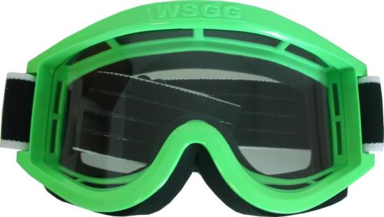 Picture of Goggles Off Road Motocross Green