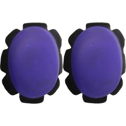 Picture of Knee Sliders Blue with suede & velcro backing (Pair)