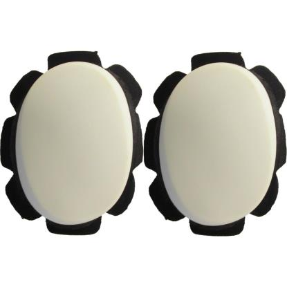 Picture of Knee Sliders White with suede & velcro backing (Pair)