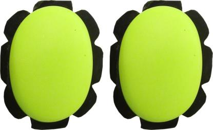 Picture of Knee Sliders Yellow with suede & velcro backing (Pair)